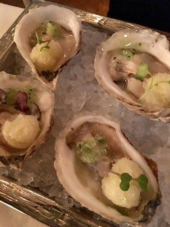 "Sorellina: Oysters ""sorbet"""
