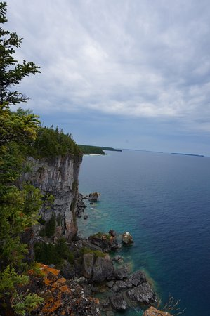 Tobermory Village Campground: Bruce Trail
