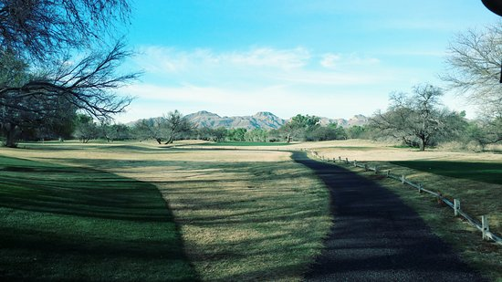 Tubac Golf Resort & Spa: View from the tee box