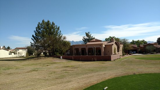 Tubac Golf Resort & Spa: Beautiful houses in the golf club.