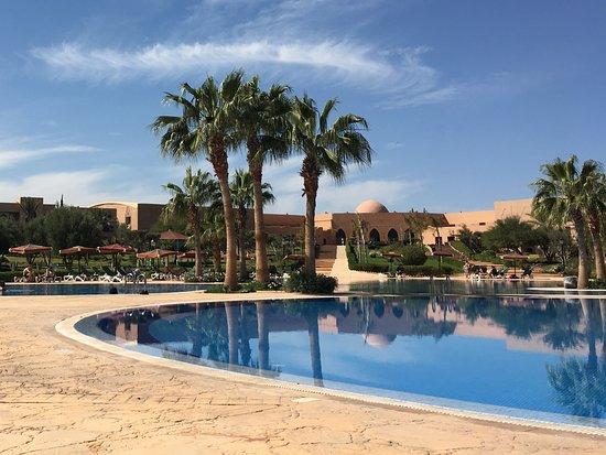 Marrakech Ryads Parc & Spa by Blue Sea : Uitzicht naar lobby