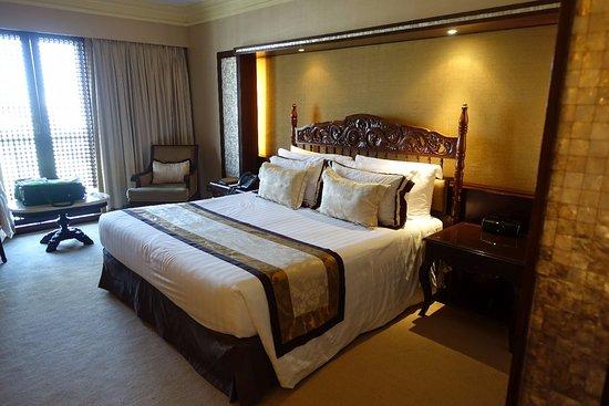 The Manila Hotel: sehr bequem und gediegen