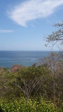 Hotel Kambutaleko: Esta es la vista al mar que se tiene desde el hostal