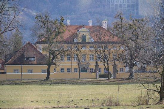 Het huis van de familie von trapp in de film bild von panorama