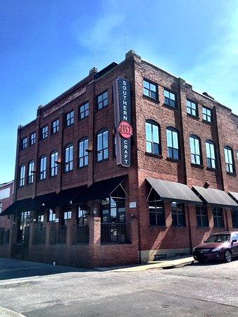 Johnson City, TN: Historic downtown warehouse