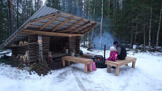 Seinajoki, Finlandia: Laavu