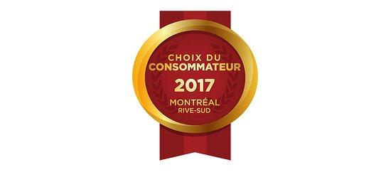 Chambly, Canada: Tre Colori a été sélectionné pour le prix Choix du consommateur 2017 dans la catégorie Restauran