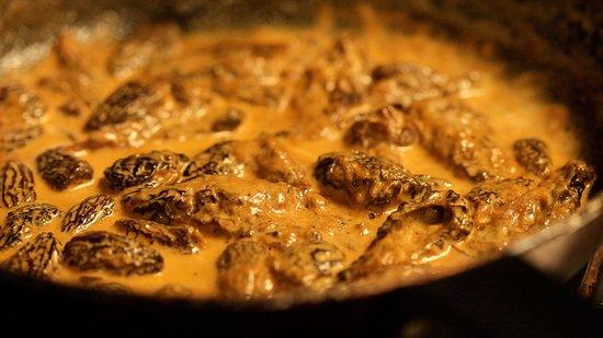 la fameuse sauce aux morilles du relais du cap en cours de ... - Cours De Cuisine Cap