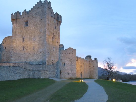 Ross Castle: After sunset.