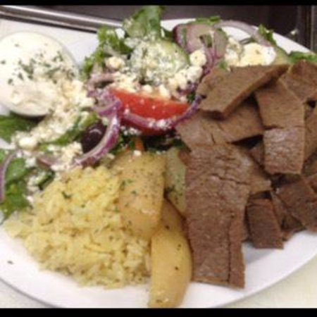 Three Kretans: Gyro Dinner