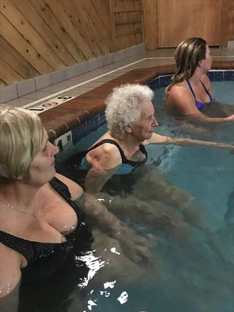 Napoleon, OH: All ages enjoy our hot tub