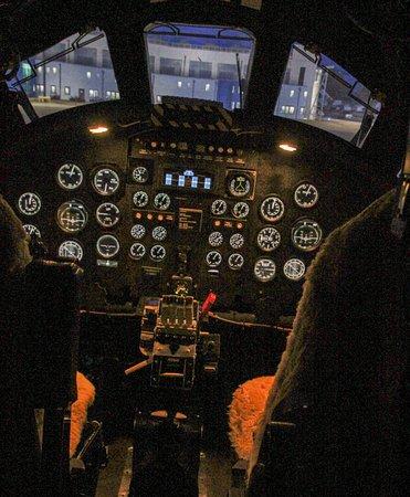 Rossendale, UK: Vulcan Cockpit