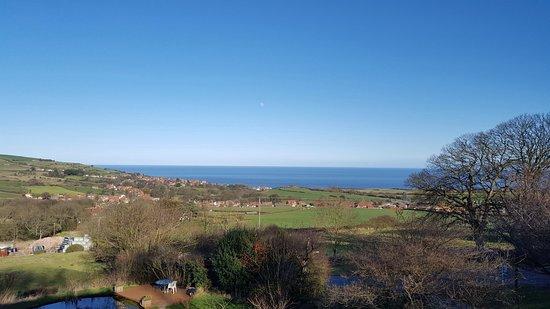 Fylingthorpe, UK: View from room 4