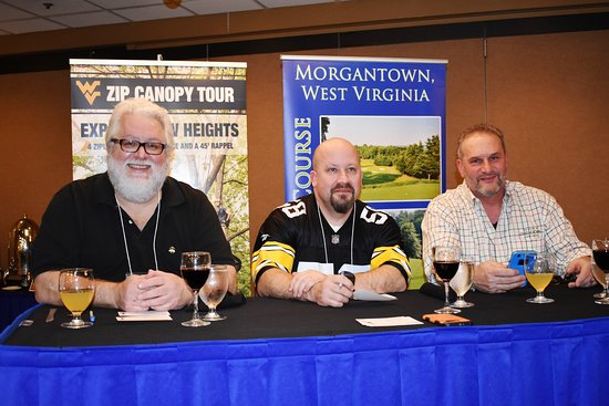Lakeview Golf Resort and Spa: The Judges for the Iron Chef competition.