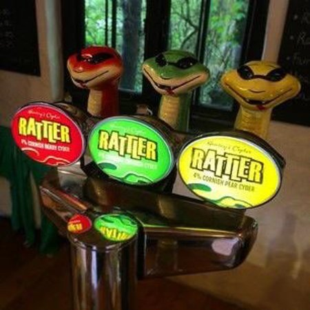 Truro, UK: Rattler on tap
