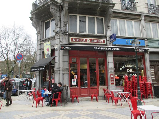 Photo of Restaurant Brasserie de l'Union at Parvis Saint-gilles 55, Saint-Gilles 1060, Belgium