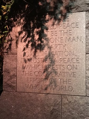 Photo of Monument / Landmark Franklin Delano Roosevelt Memorial at 1850 West Basin Dr Sw, Washington DC, DC 20242, United States
