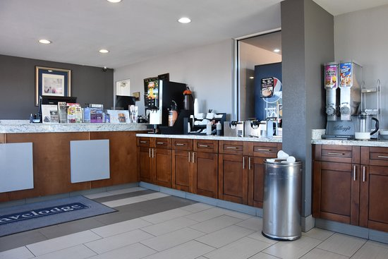 Travelodge Williams Grand Canyon: Breakfast bar area