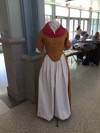 New Bern, NC: Period sewing exhibit