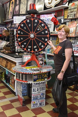Williams, AZ: Prize Wheel !