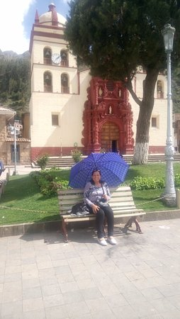 Huancavelica, Perú: Fachada de Catedral