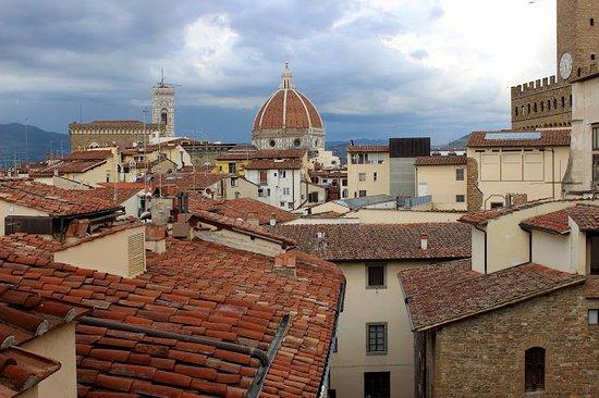 Hotel Degli Orafi: Vue de la terrasse roof top