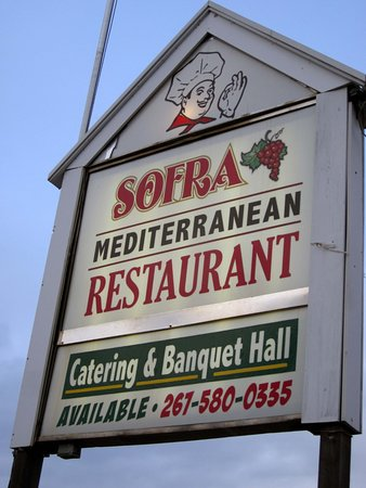 Levittown, PA: Sofra's Sign