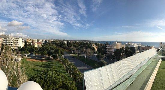 Emmantina Hotel: Från tak terass