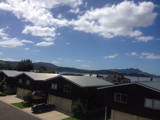 Oceans Resort Whitianga: Apartment 37 View from bedroom