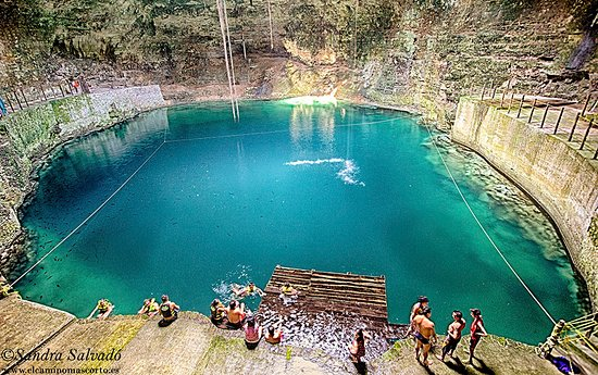Temozon, เม็กซิโก: beautiful cenote, come and have fun with us, enjoy this little piece of mayan sacred ground