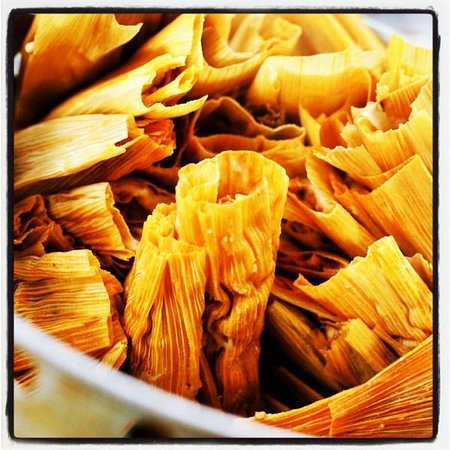 Peak & Elm Cocina y Bar: Hand crafted Tamales!!