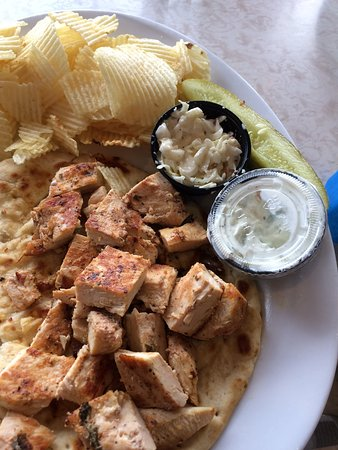 Bridgewater, Nueva Jersey: Awful Chicken Souvlaki Sandwich