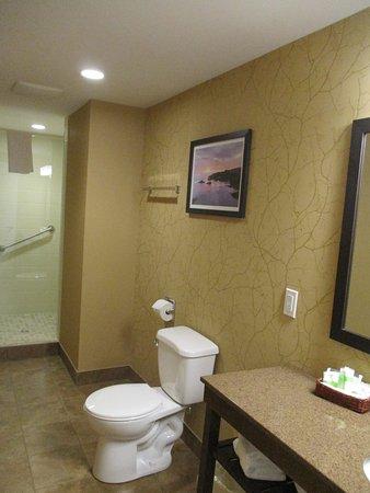 Gander, Kanada: Huge bathroom, wonderful shower