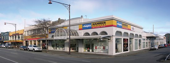 E Hayes and Sons iconic Invercargill Department Store in Dee Street, Invercargill