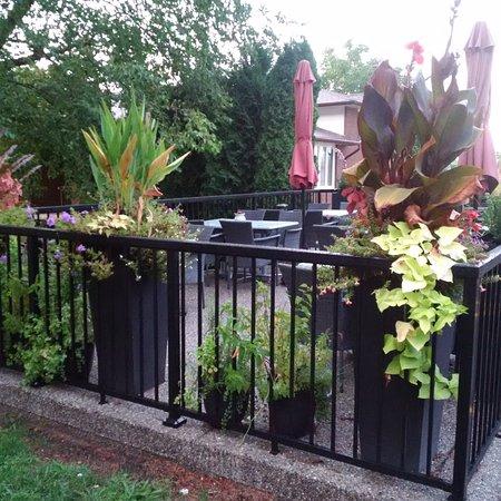 Vineland, Kanada: Outdoor patio