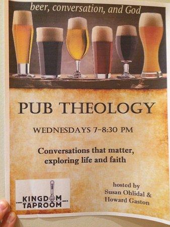 Saint Johnsbury, VT: Pub Theology on Wed. eve