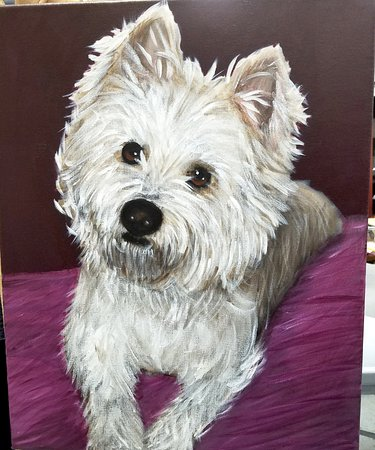 Apex, Karolina Północna: YES! You can paint YOUR pet!! Send in a photo of your pet and we will teach you all the tricks!