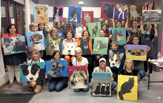 Apex, NC: YES! You can paint YOUR pet!! Send in a photo of your pet and we will teach you all the tricks!