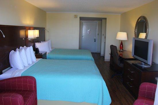 Seaside Inn: deluxe room
