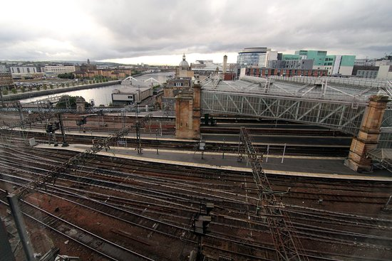 Jurys Inn Glasgow: View from the room