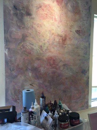 Carmel Valley, Californien: This gallery is Patricia's working studio too!