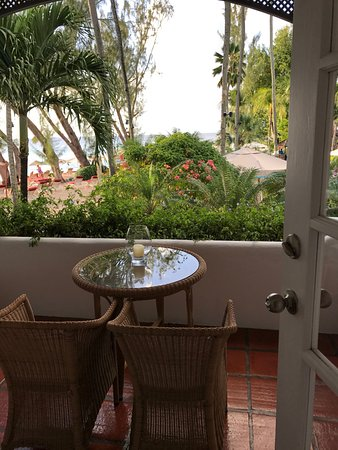 Porters, Barbados: there are no ocean front rooms