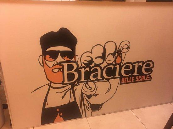 Braciere delle Scale: Il logo del locale