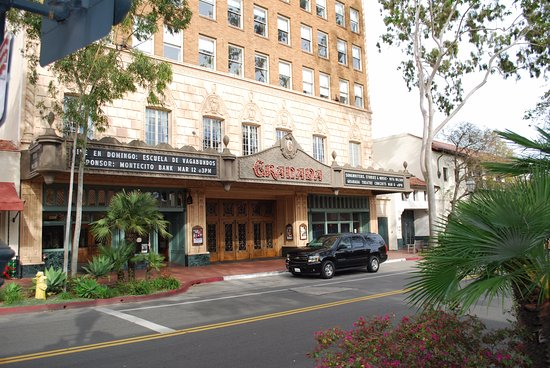 Ventura, CA: Limo services are popular for visits to the Granada Theater in Santa Barbara