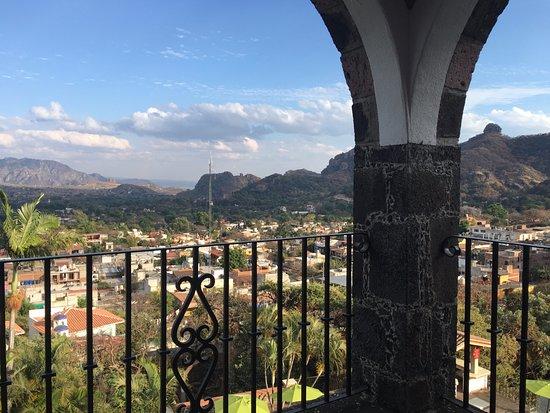 Posada Del Tepozteco: Room 16 - View from terrace / balcony