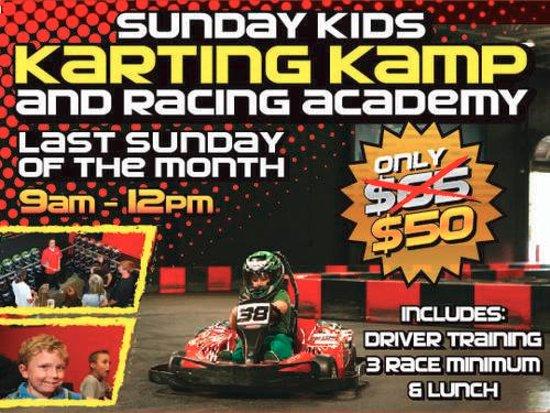 Fridley, MN: MB2 Raceway Karting Kamp