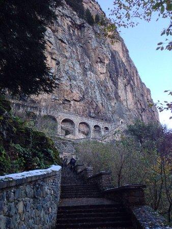 Sumela Monastery: Дорога в монастырь