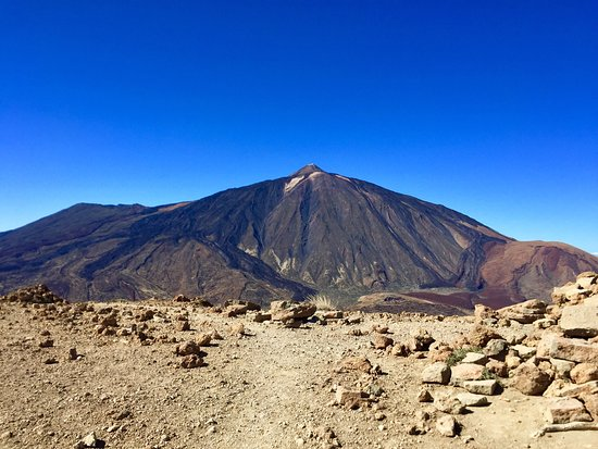 Topblick vom Guajara auf El Teide
