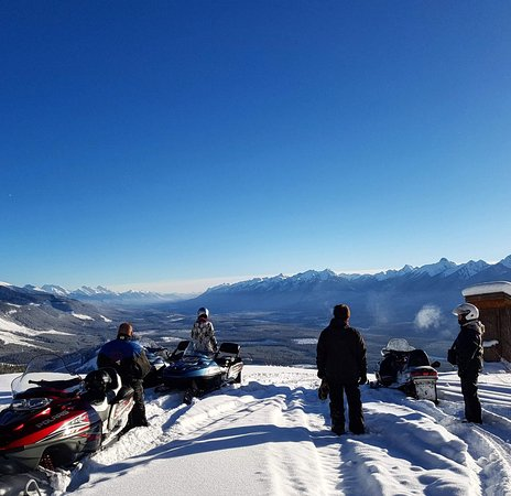 Golden, Canada: Our snowmobile Tours are home to some of the most beautiful views in the World
