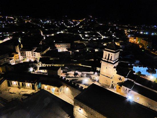 Alcaudete, Spanyol: Vistas de la población desde la torre
